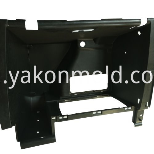 Vehicle storage bin molds