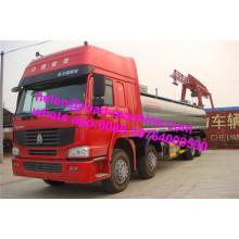 Caminhão do tanque de combustível de HOWO diesel ou gasolina 8x4