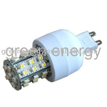 LED G9, 36 LEDs, SMD3528, lâmpada led,