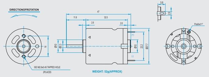 RF360 DC Motor