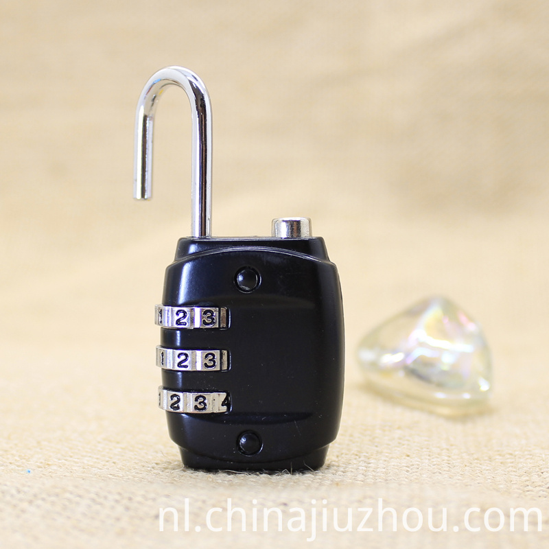 Black Zinc Alloy Lock