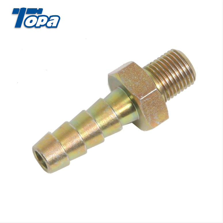 Chrome seal screw press quick pipe ferrule fitting