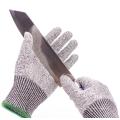 Guantes de trabajo de seguridad para cocina de nivel 5 resistentes a los cortes de HPPE de grado alimentario