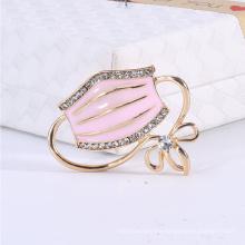 Superstarer New Creative Fashion Jewelry Enamel Drop Mask Brooch