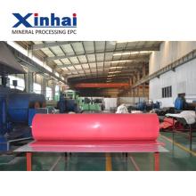 Красный натуральный Латекс лист, резиновый лист рулон использован для минируя машины