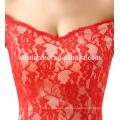 rotes Hochzeitskleid 2017 neue Modell Meerjungfrau Spitze Brautkleider