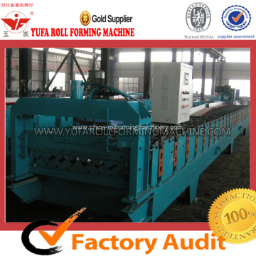 Roofing sheet making machine production line