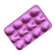 пасхальное яйцо кролик форма силиконовые формы для кексов