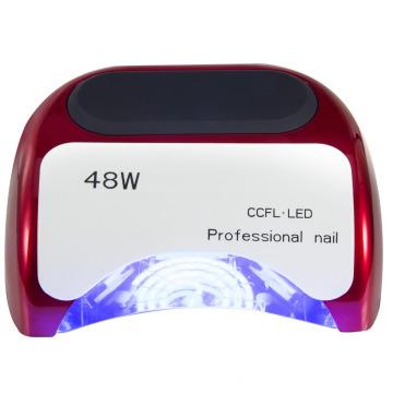 48W slide nail art phototherapy lamp/ Professional nail CCFL+LED