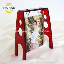 Роскошный светодиодных селфи акриловая рамка фото магнита холодильника 5мм
