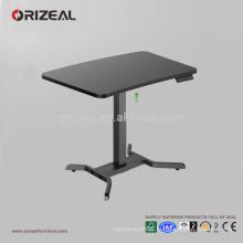 siège réglable intelligent de haute qualité de jambe simple pour tenir le bureau debout de bureau bon marché d'ordinateur de bureau