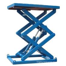 Warehouse 500kg Mini Low Profile Electric Hydraulic Scissor Lift Table