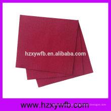 Serviettes de papier décoratives de serviettes de table en tissu décoré de serviettes de mariage monogramme