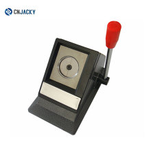 TianjinTable Stand ID Photo Cutter / 30mm Diameter ID Picture Cutter Foto / Sissor Cut Photos a 32 * 22mm Right Corner