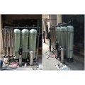 1000L / Hr industrielle Umkehrosmose-Wasseraufbereitungsanlage mit Ultraviolett-Sterilisation