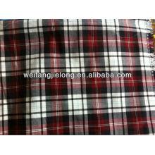 Tissu courtier teint en vrac pour chemise