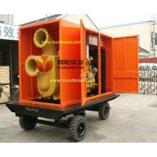 Pompe d'irrigation à moteur diesel certifiée ISO9001