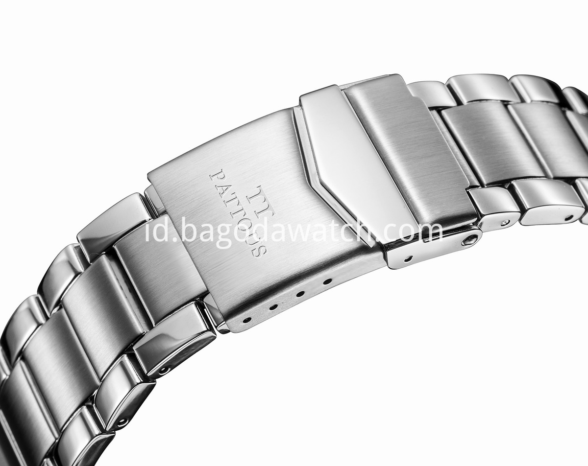stainless steel wrist watch band