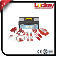 Safety Lockout Group with Components