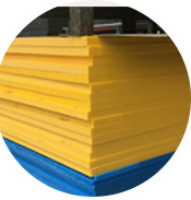 HDPE sheet yellow