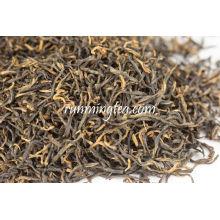 Mingqian Jin Jun Mei (ceja dorada) Lapsang Souchong té negro hojas sueltas té negro, BTF-001