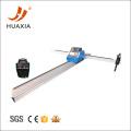 Placa de metal grossa cnc máquina de corte a plasma portátil