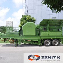 Portable Rock Crusher with Large Capacity