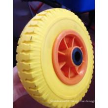High Quality PU Flat Free Foam Tire with Size (250-4)