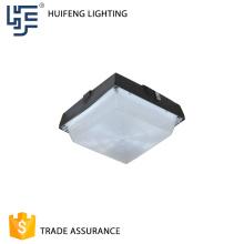 La couverture en aluminium de PC de logement de logement 30w a mené la lumière d'auvent