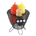 5pcs BBQ condiment set