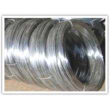 Alambre de alta calidad galvanizado y negro del hierro que liga