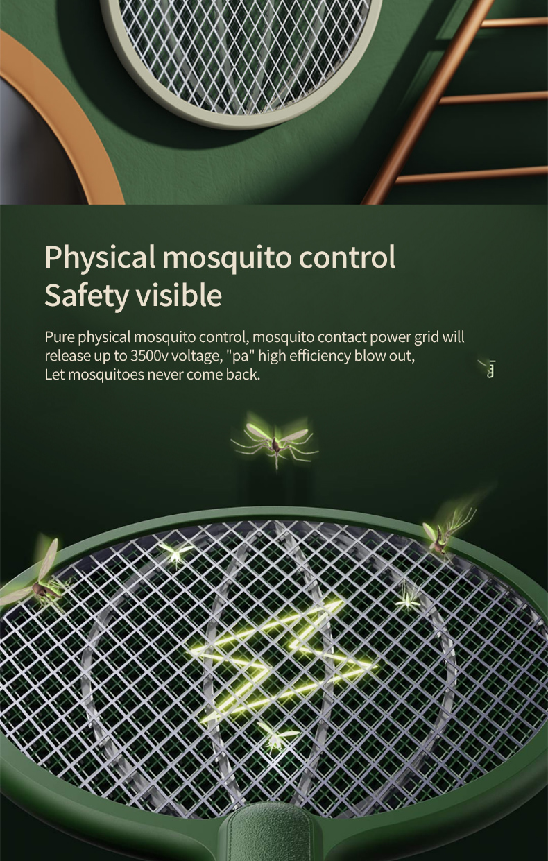 Qualitell Rechargeable Mosquito Killer