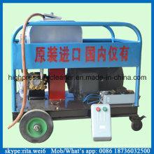 Jato de água de alta pressão 300bar Motor elétrico 15kw Blaster limpador