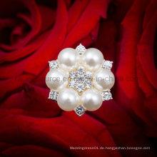 Hochzeits-Brautstrauß-Blumenperlen-Schmucksache-Pin