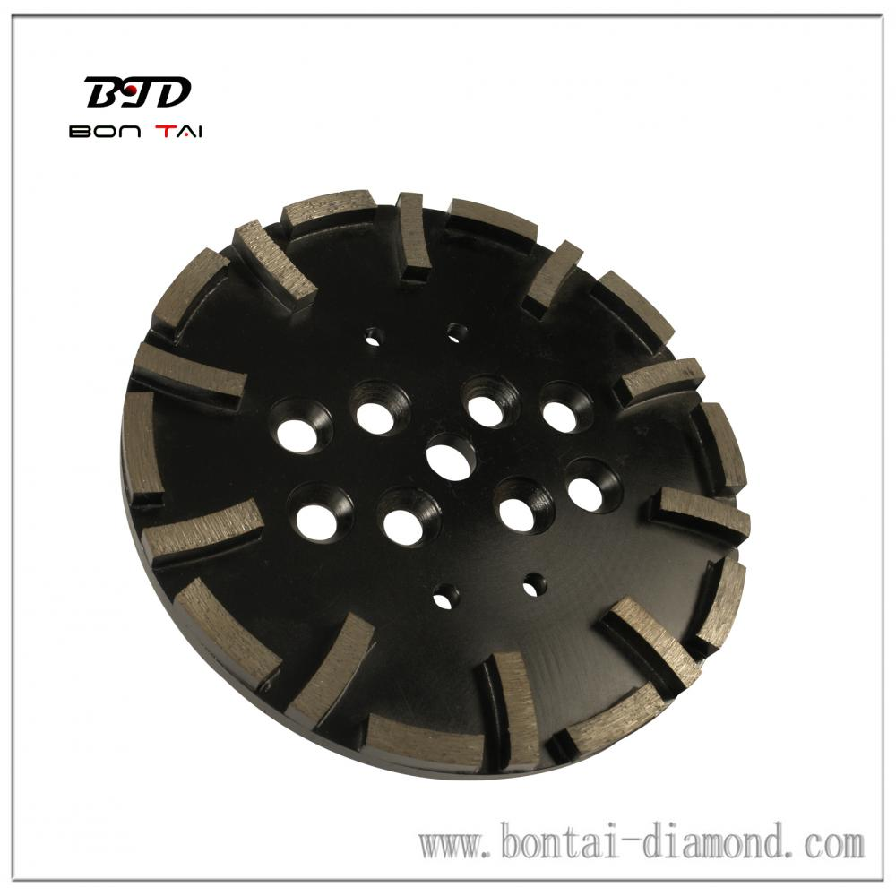 20 segment diamond grinding head for heavy machine grinding