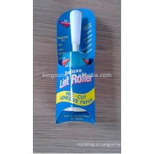 2015 barato descartável tapete de limpeza Lint removedor de rolo
