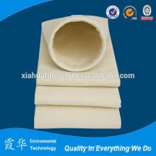 Fábrica de venta aguja de fieltro bolsa de filtro de polvo para filtros de bolsa