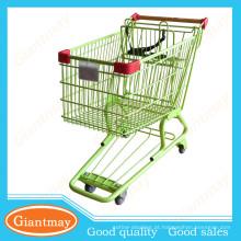 110l carrinho de compras (galvanizado) em preço barato
