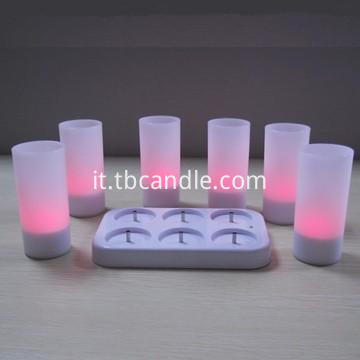 Stunning rechargeable LED tealight candle