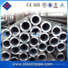 China fornecimento de laminados a quente Q345 70 milímetros de aço sem costura tubo verniz tratamento de superfície
