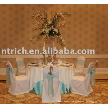 100%polyester chair covers,hotel/banquet chair covers,organza sash