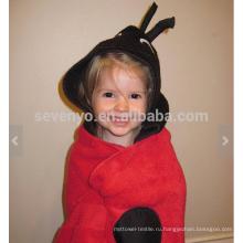 Ladyhug с капюшоном полотенце, 100% хлопок, супер мягкий и Абсорбент