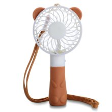 Factory made hot-sale for Portable Rechargeable Fan Hot Portable Mini USB Bear Handheld Fan Rechargeable supply to Russian Federation Exporter