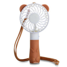 China for Rechargeable Fan Portable Handheld Air Personal Necklace Mini bear Fan supply to Netherlands Exporter