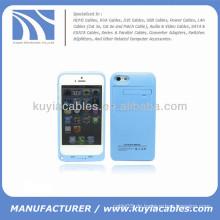 2200mAh externe Batterie Backup Power Case für iPhone 5c blau