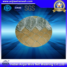 Hot-Dipped Galvanized Iron Wire Mesh Chain Link Fence