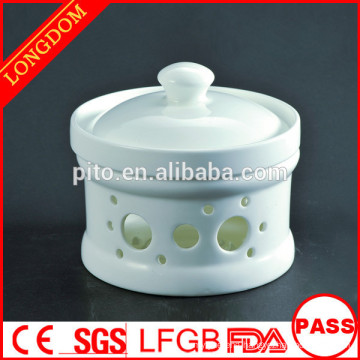 High quality hotel restaurant Chinese porcelain soup bowl tureen