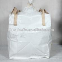 A indústria utiliza sacos grandes de 1000 kg FIBC super sacos para cimento de areia