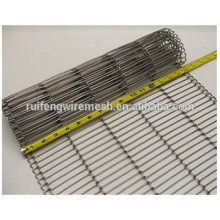 Stainless Steel Flat Wire Belt / Metal Wire Belt Conveyor / Ss Steel Conveyor Belt Mesh