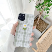 Fashion 3D Flower Relief Embroidery Cloth Phone Cases